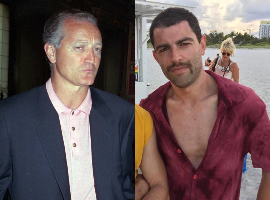 Max Greenfield è il fratello dello stilista Santo Versace
