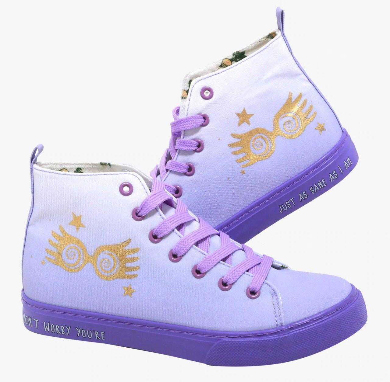 Le scarpe a tema... Luna!