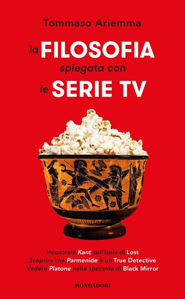 La Filosofia Spiegata con le Serie TV, copertina rossa