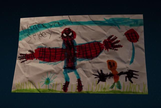 Uno degli easter egg di Spider-Man