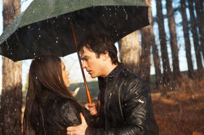 Una scen di The Vampire Diaries