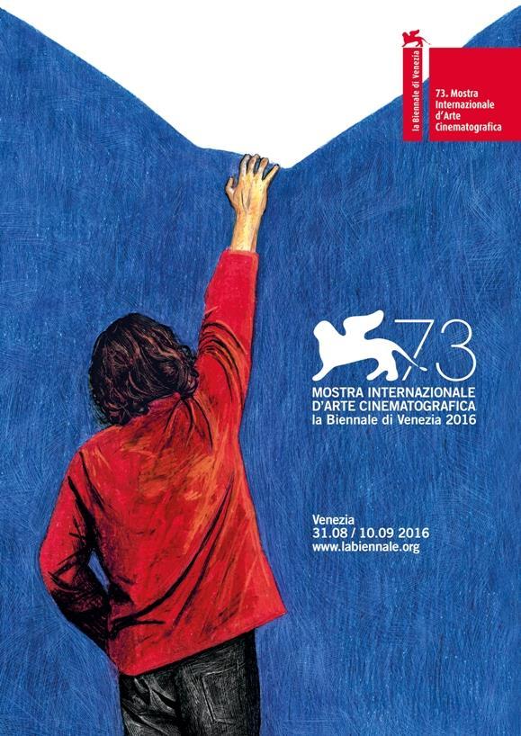 Ecco il manifesto ufficiale di Venezia 73