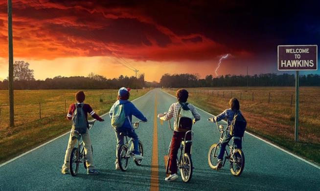 i protagonisti di Stranger Things