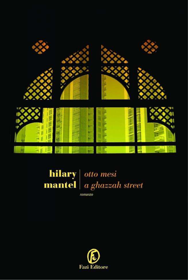 La copertina italiana di Otto Mesi a Ghazzah Street con una tipica finestra in stile arabo