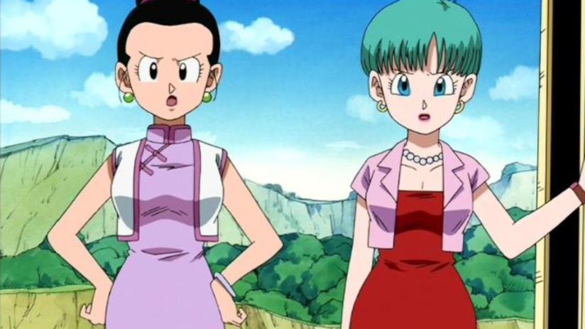 Dragon Ball Bulma e Chi-Chi