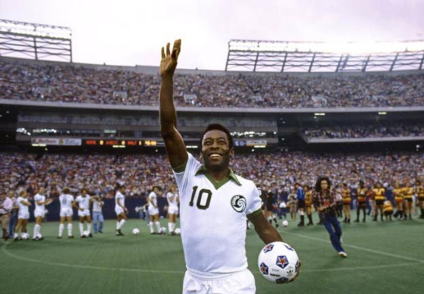 Il calciatore Pelé