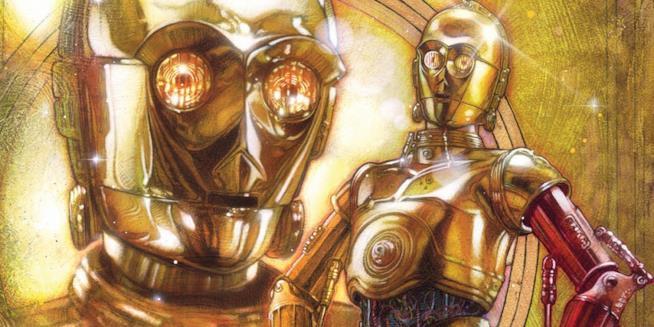Immagine di C-3PO dal fumetto Star Wars Special: C-3P0