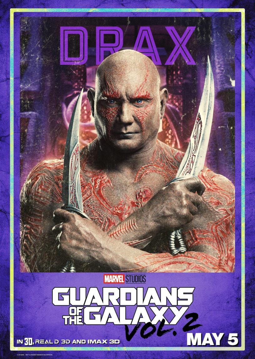 Guardiani della Galassia Vol. 2: Dave Bautista