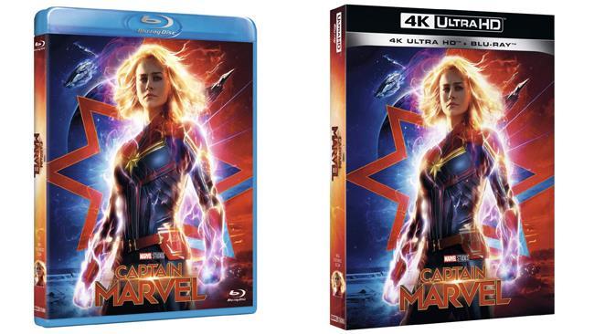 Captain Marvel - 4K e Blu-ray - Home Video
