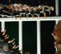 I denti dell'Indoraptor nei trailer di Jurassic World 2