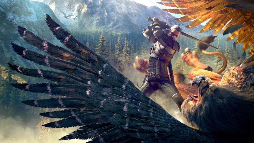Geralt Di Rivia combatte nel terzo capitolo di The Witcher