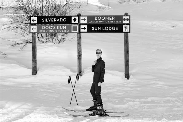 Matthew Gray Gubler è uno sciatore provetto.
