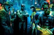 In foto il team di Watchmen, film di Zack Snyder