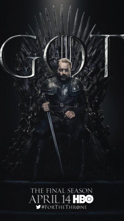 Game of Thrones 8: il poster di Ser Jorah Mormont