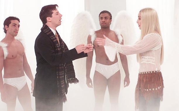 Jack incontra uno dei suoi idoli, Cher, in un episodio di Will & Grace