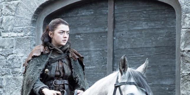 Maisie Williams in Game of Thrones 7