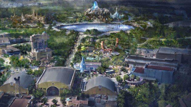 Un altro sguardo al regno di Frozen che sorgerà a Disneyland Paris