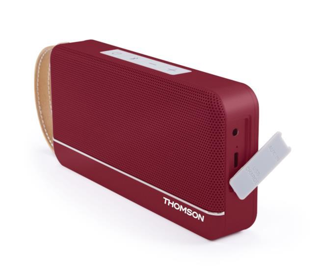 Visione laterale dello speaker WS02 di Thomson