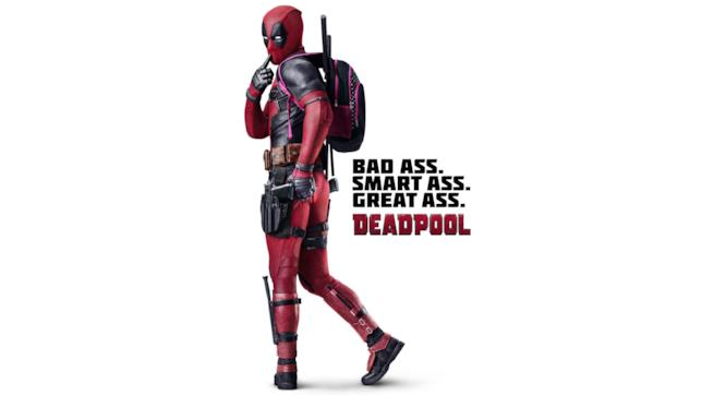 Ryan Reynolds in un poster di Deadpool