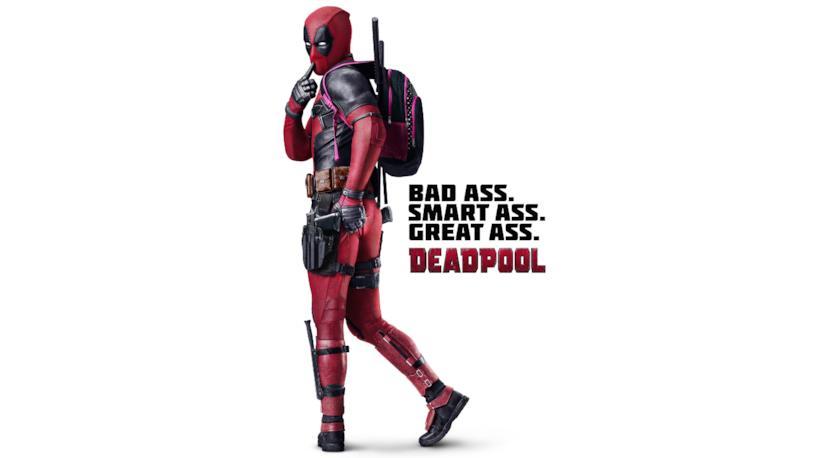 Ryan Reynolds in un poster di Deadpool