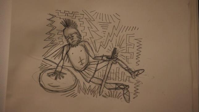 Prison Break 5, il disegno di Mike Scofield