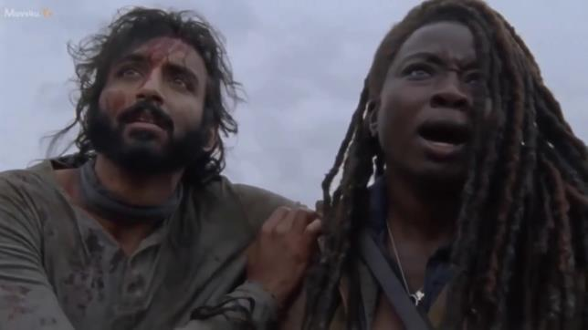The Walking Dead 9x15: Siddiq e Michonne