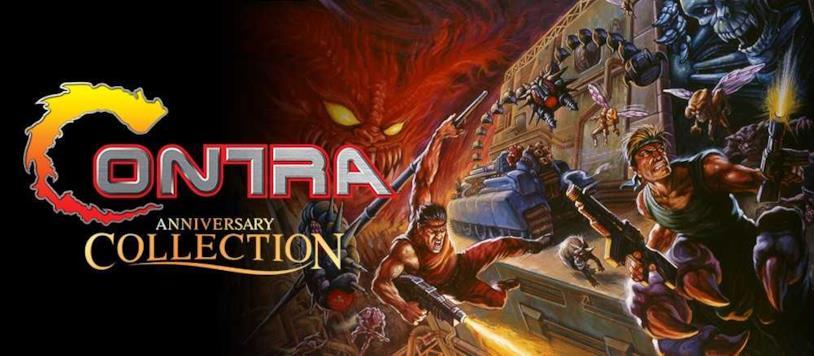 Il concept art di Contra Anniversary Collection
