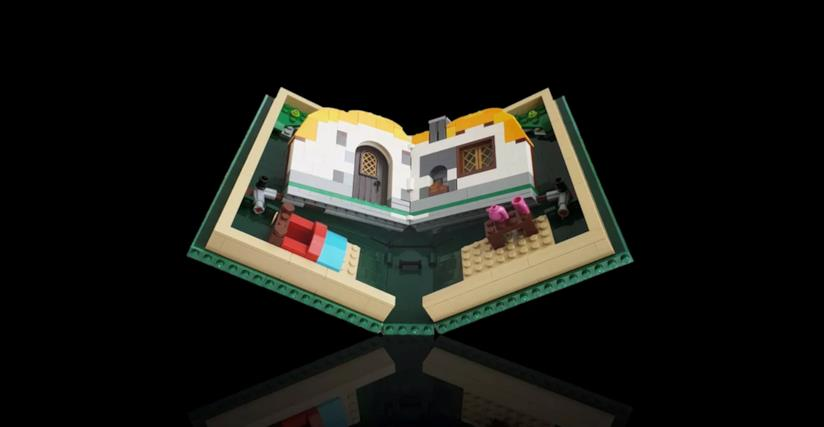 Immagine promozionale del Pop-up Book di LEGO
