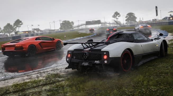 Bolidi in pista in Forza Motorsport 7