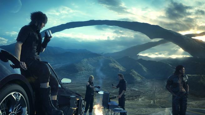 Tutti gli eroi di Final Fantasy XV