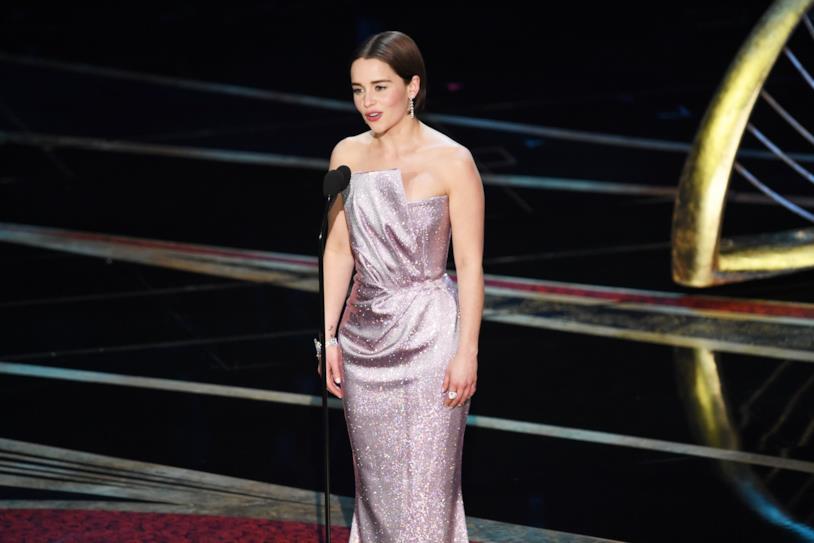 Emilia Clarke agli Oscar 2019