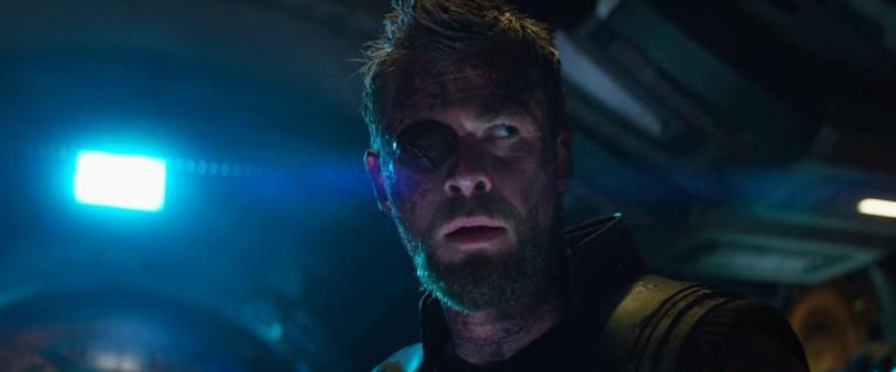 Thor è perplesso nel trailer di Infinity war