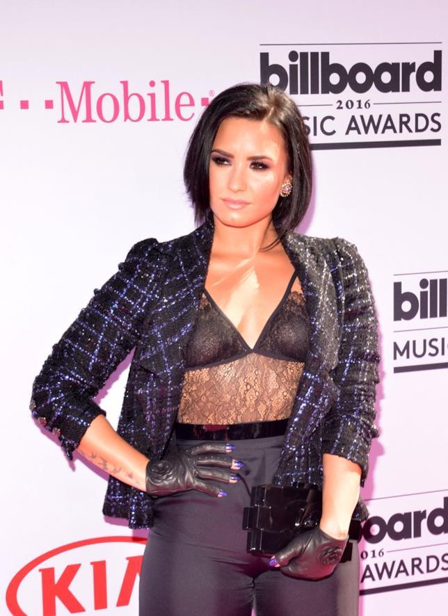 Demi Lovato in Chanel ai Billboard Music Award 2016