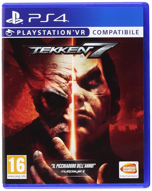 Packshot di Tekken 7 per PS4