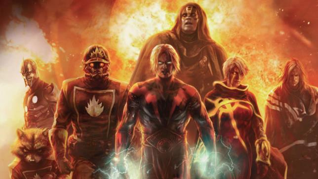 I Guardiani della Galassia nei fumetti Marvel