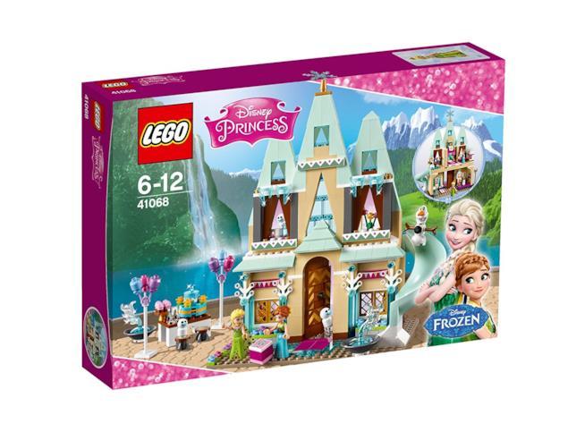 Dettagli del box del set di LEGO La festa al castello di Arendelle