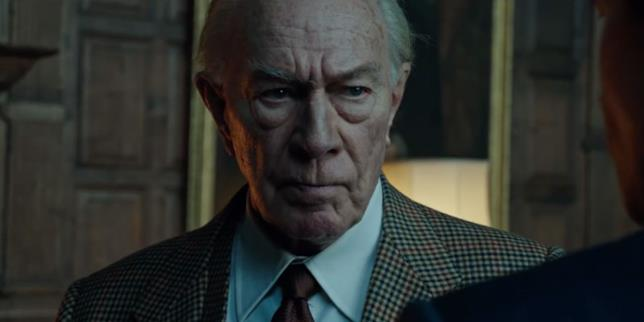 Christopher Plummer è J. Paul Getty in Tutti i Soldi del Mondo