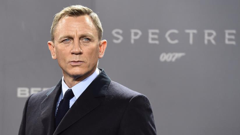 Daniel Craig alla première di Spectre