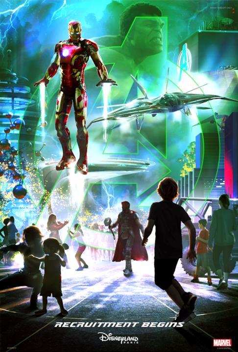 Iron Man sarà protagonista della nuova area a tema Marvel di Disneyland Paris