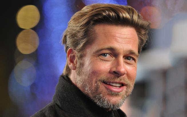 Primo piano di Brad Pitt