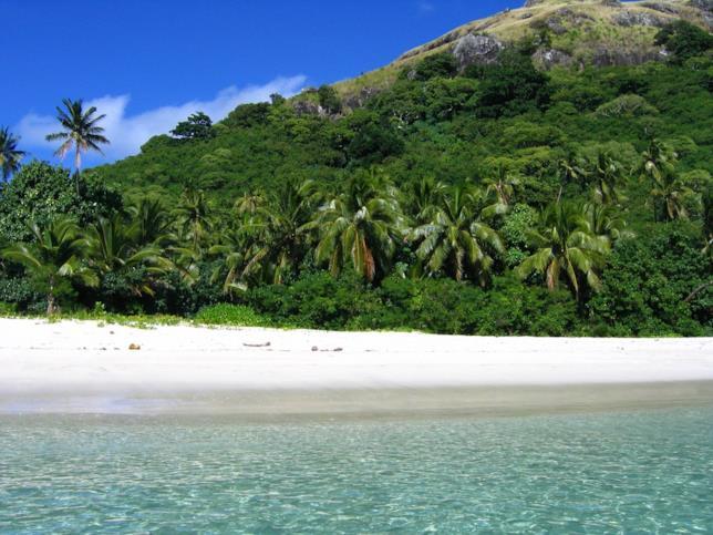 Isola delle riprese di Laguna Blu