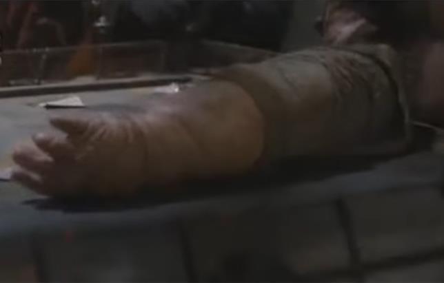 Il braccio di Unkar Plutt