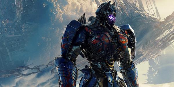 Scena del film de I Transformers