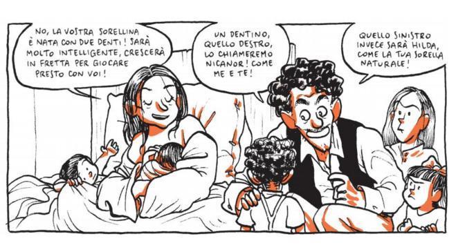 Alessio Spataro firma i disegni del fumetto su Violeta