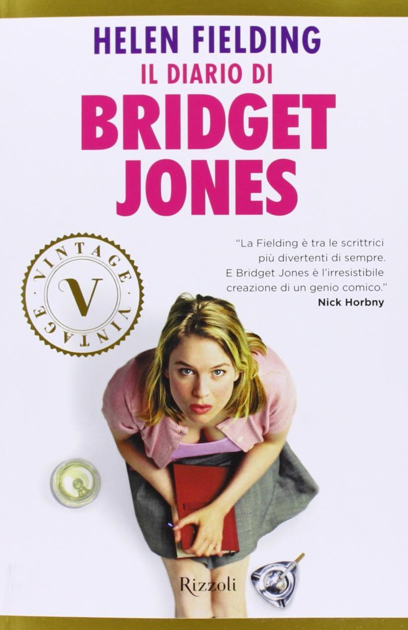 La copertina del libro Il diario di Bridget Jones