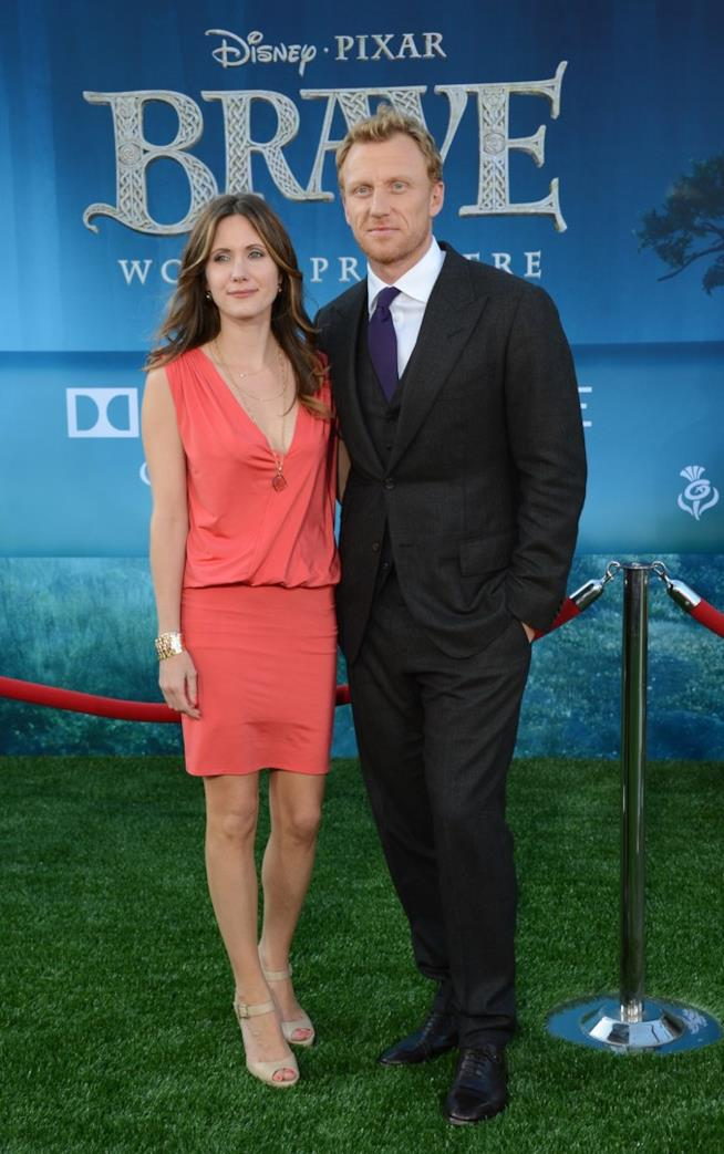 Kevin McKinn e la moglie, Jane Parker