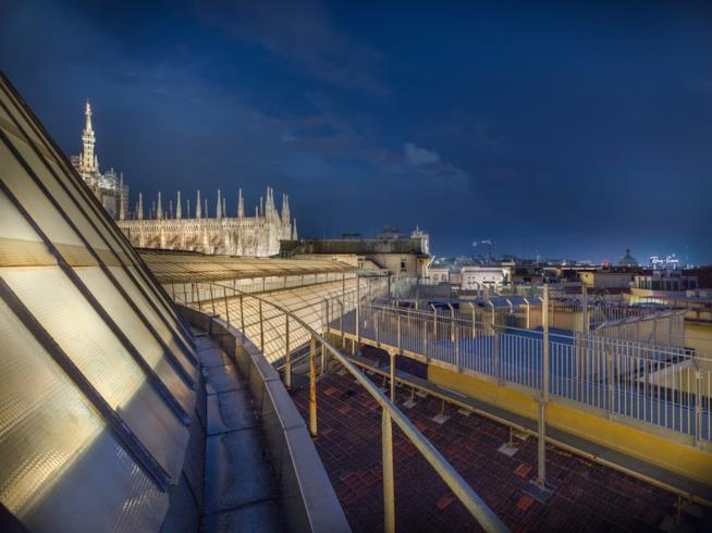 Una delle aree che ospitano Cinema sui tetti