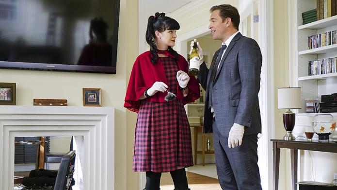 Un'immagine dell'episodio finale di NCIS con DiNozzo e Abby