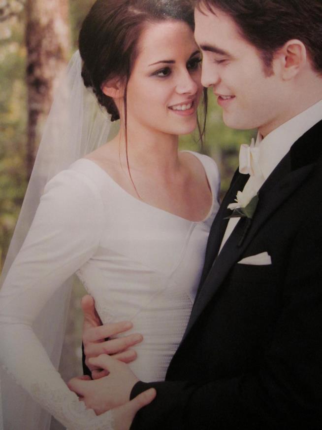 Immagine di Robert Pattinson e Kristen Stewart in Twilight