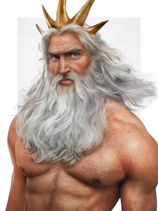 Re Tritone nella vita reale